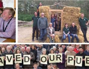 Collage of images from community cooperatives