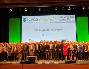 OECD rural development conference 2018