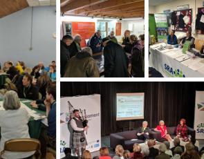 collage of Scottish Rural Parliament photos