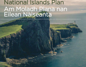 front cover of proposed National Islands Plan