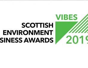Vibes 2019 logo Scottish Environmental Business Awards