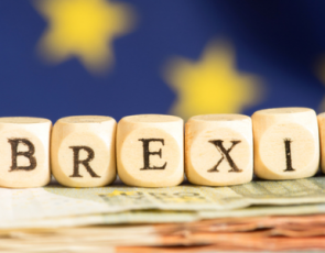 'Brexit' written on blocks