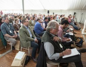 delegates for Ethical Farming Conference