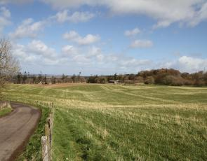 Farm landscape Photographer - Matt Cartney. Crown Copyright.