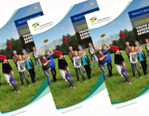 Front cover of EAFRD Projects Brochure 'Youth and Generational Renewal'