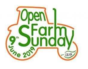 Open Farm Sunday tractor logo