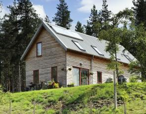 Picture of self build home in the Highlands