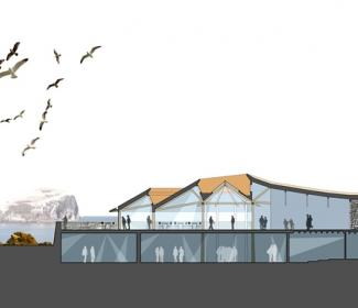 Artist impression of National Marine Centre