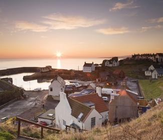 St Abbs Harbour, courtesy Ian Oliver