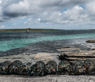 Creels on Papa Westray