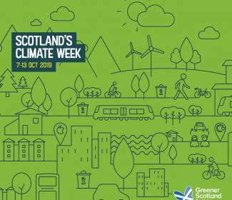 Scotland's Climate Week graphic