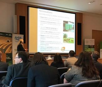 Presenter at Agri-innovation conference in York